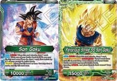 Son Goku // Ferocious Strike SS Son Goku - BT10-060 - UC - Foil