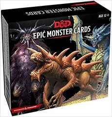 5th Edition Epic Monster Cards