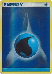 Water Energy - 2007 Unnumbered - Reverse Holo