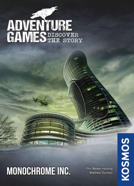 Adventure Games: Monochrome Inc.