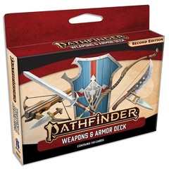 Pathfinder Second Edition Weapons & Armor Deck