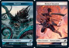Kraken Token // Human Soldier Token (003) - Foil