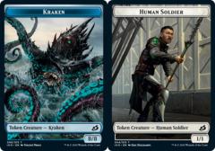 Kraken Token // Human Soldier Token (004) - Foil