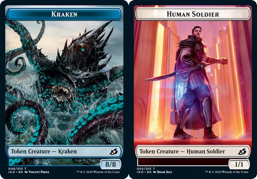 Kraken Token // Human Soldier Token (005) - Foil