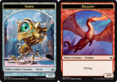 Servo Token // Dragon Token -