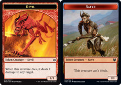 Devil Token // Satyr Token -
