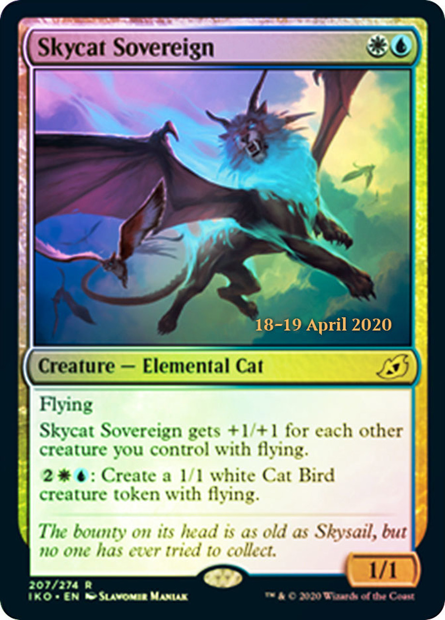 Skycat Sovereign - Foil - Prerelease Promo