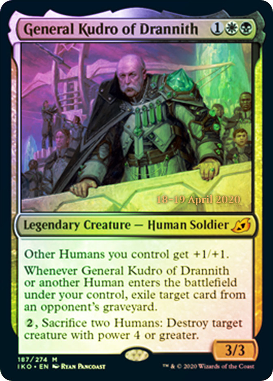 General Kudro of Drannith - Foil - Prerelease Promo