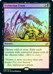 Extinction Event - Foil - Prerelease Promo