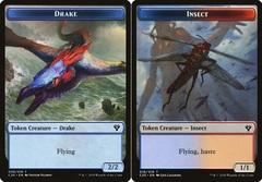 Drake Token // Insect Token (018)