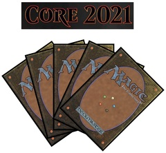 Core Set 2021 Complete Set of Commons X 4 (Does not include Showcase, Planeswalker deck cards or Basic Lands)