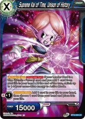 Supreme Kai of Time, Unison of History - BT10-034 - UC - Foil