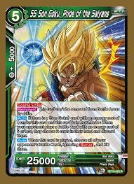 SS Son Goku, Pride of the Saiyans - BT10-065 - R - Foil