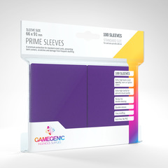 Gamegenic - Prime Sleeves - Purple  (100)