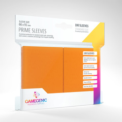 Gamegenic - Prime Sleeves - Orange (100)
