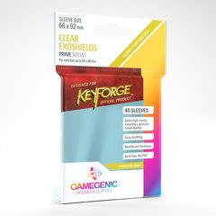 Gamegenic - Keyforge Clear Exoshields - Clear