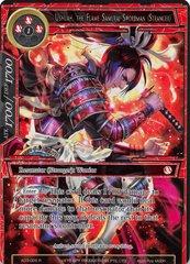 Ushuah, the Flame Samurai Swordman (Stranger) - AO3-026 - N - Full Art