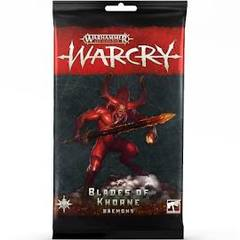 Warcry Cards: Blades of Khorne Daemons