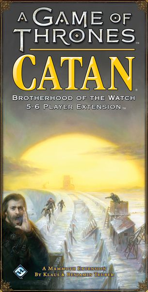 A Game of Thrones: Catan - Brotherhood of the Watch: 5-6 Player Extension
