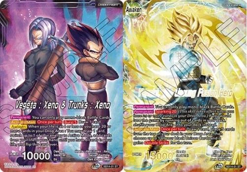 Vegeta : Xeno & Trunks : Xeno // Vegeks, the Unsung Fusion Hero - SD14-01 - ST - Foil