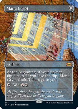 Mana Crypt - Borderless