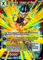 Gotenks, Unison of Rage - EX11-02 - EX - Foil