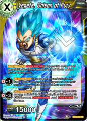 Vegeta, Unison of Fury - EX12-02 - EX - Foil