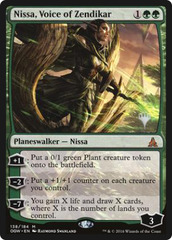 Nissa, Voice of Zendikar - Foil - Promo Pack