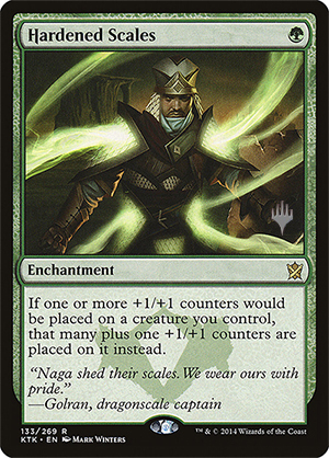 Hardened Scales - Foil - Promo Pack