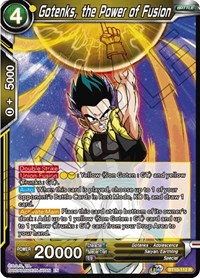 Gotenks, the Power of Fusion - BT10-112 - R