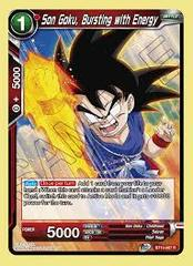 Son Goku, Bursting with Energy - BT10-007 - R - Foil