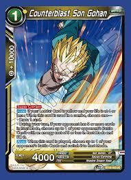 Counterblast Son Gohan - BT10-100 - UC - Foil