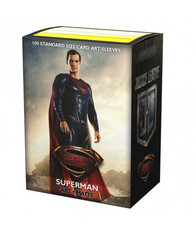 Dragon Shield Matte Art Sleeves: Justice League - Superman - Limited Edition (100ct)