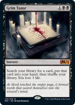 Grim Tutor - Foil