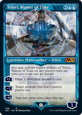 Teferi, Master of Time (290) - Showcase
