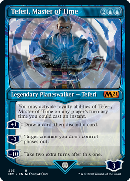 Teferi, Master of Time (293) - Showcase