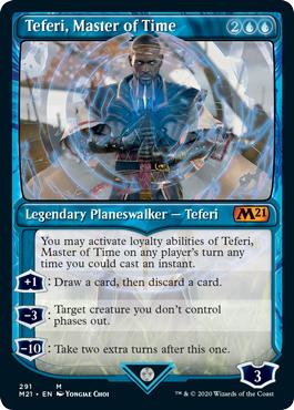 Teferi, Master of Time (291) - Foil - Showcase