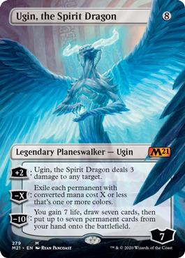 Ugin, the Spirit Dragon - Borderless