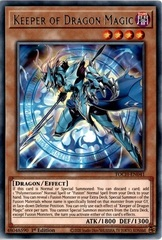 Keeper of Dragon Magic - TOCH-EN041 - Rare - 1st Edition
