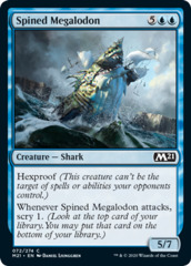 Spined Megalodon