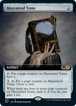 Mazemind Tome - Extended Art