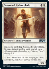 Seasoned Hallowblade - Foil