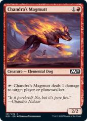 Chandra's Magmutt - Foil
