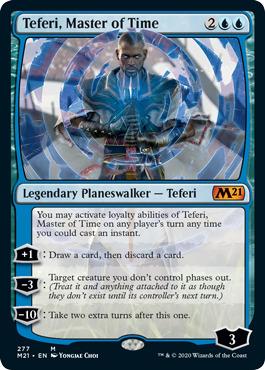 Teferi, Master of Time (277) - Alternate Art