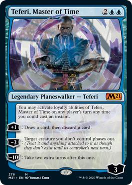 Teferi, Master of Time (276) - Foil - Alternate Art