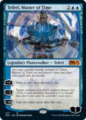 Teferi, Master of Time (277) - Foil - Alternate Art