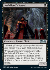 Archfiend's Vessel - Foil on Channel Fireball