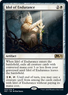 Idol of Endurance - Foil