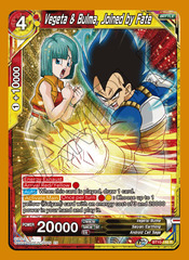 Vegeta & Bulma, Joined by Fate - BT10-146 - R