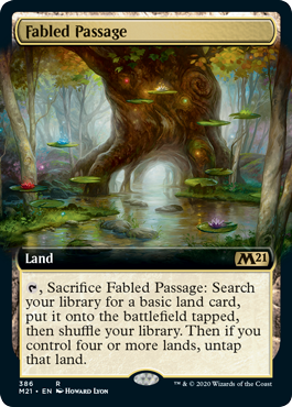 Fabled Passage - Extended Art